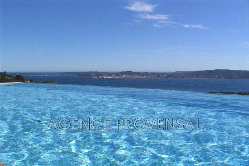 Photo Villa avec vue mer et piscine Grimaud  Location saisonnière villa avec vue mer et piscine  12 chambres   350m²
