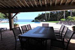 Photo Villa avec vue mer et piscine Sainte-Maxime  Location saisonnière villa avec vue mer et piscine  10 chambres   200m²