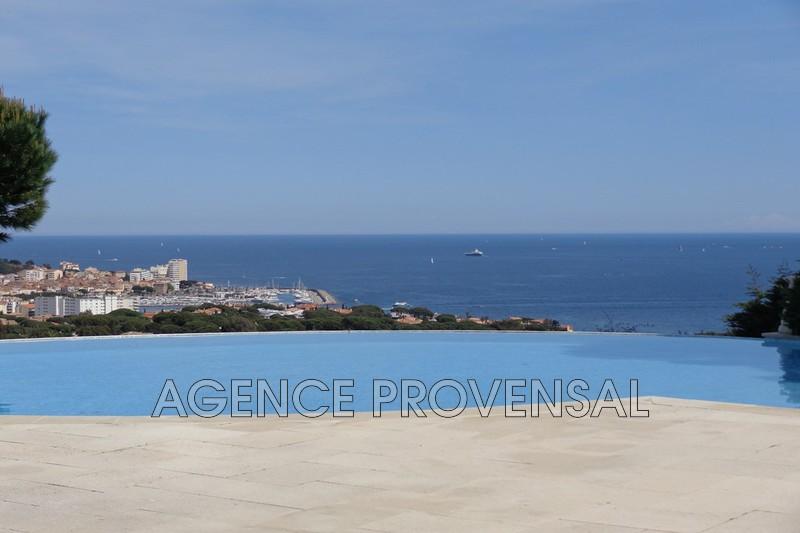 Photo Villa avec vue mer et piscine Ste maxime  Location saisonnière villa avec vue mer et piscine  10 chambres   200m²